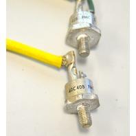 SCR #40C40B Rectifiers 2 pcs. Used.