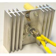 SCR #40C40B Rectifiers 2 pcs on one heat sink. Used.
