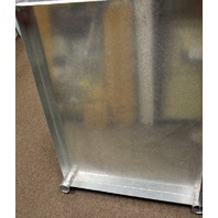 "BK Resources #VTS-3630 - 36""x30"" Galvanized Steel Work Table Shelf."