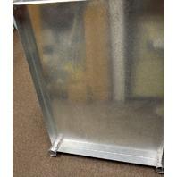 """BK Resources #VTS-3630 - 36""""x30"""" Galvanized Steel Work Table Shelf."""