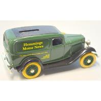"ERTL ""1932 Replica of the Ford Delivery Van"" Bank w/Key. ""Hemmings Motor News"""
