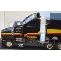 "1993 Jimmy Spencer ""12 meineke Racing Team"" truck and trailer w/ acrylic box."