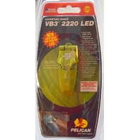 Pelican 2220-010-138 Moss Green - VB3 2220 LED 180* on/off pivoting head.