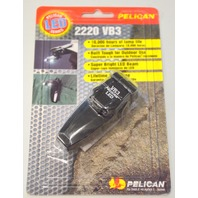 Pelican 2220-010-110 - 180* Pivoting Head Spring clip - LED. Mini Flashlight