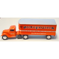 Ertl Vintage Die Cast Replica 1937 Ford Truck Coles Express Cab and Trailer