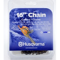 "Husqvarna 16"" Replacement Low kickback, Low vibration Chainsaw Chain 531300437"