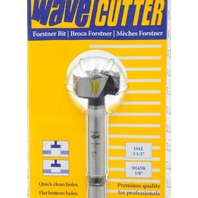 "Fisch Wave Cutter Forstner Bit #0317, OAL 3 1/2"", Shank 3/8"" made in Austria."