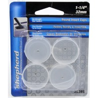 "Shepherd Hardware #3039S Round Insert Cups-1 1/4""/ 32mm. 1 case of 384 - 4 packs."