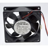 NMB Flowmax Model:3610NL-04 W-B 40 12VDC 0.35A DC Brushless Fan
