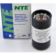 NTE Motor Start Capacitor, 25-30 UF, 330VAC, 50/60 Hz, R203319