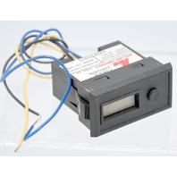 Panel Meter, Counter, Electric, LCD, Range 0-999999 Model #CUB3LR00