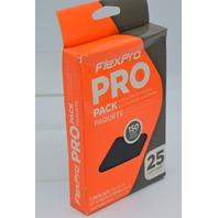 6 - FlexPro - Hook n Loop Sandpaper 25 pack, 150 Grit