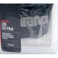 Arena 3D Ultra Racing Silicone Swim Cap - Size M - Ergonomic Compression.