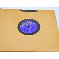 "Decca Records ""Under Western Skies"" 78 speed Box Set of 5 Records ""Bing Crosby"""