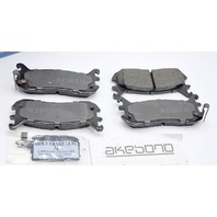 Akebono ACT636 Pro Act. Ultra Premium Ceramic Rear Disc Brake Pads.