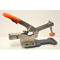 "Bessey STC-HH70 Horizontal Toggle Clamp. 700 lbs, 2 3/8""."