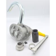 Hi-Flow Aluminum Rotary Drum Pump #26W114 will transfer fuel oil, anti-freeze etc.