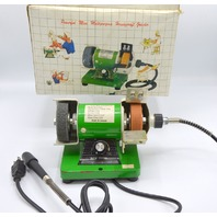 "PTC MINI-GRINDER  #52050, 3""x3/4"" Wheel, 3/8"" Wheel Arbor, 0-10,000RPM.110V, Output 120W."