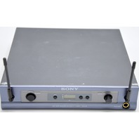Sony  UHF Synthesized Diversity Tuner URX-R1 - Frequency Range 66-69 w/Adapter