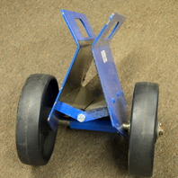 Vestil PLDL HD 4 8 GFN Adjustable panel dolly 1500 lb glass filled wheels, new old stock.