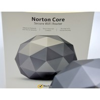 Norton Core Secure WiFi Router #517 - Granite Gray - Pre Owned - Never Used.