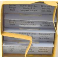 "Major Brand Hook and Loop 6' x 3/4"" Sticky Back, General Purpose Adhesive. 4 packs."