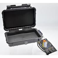 """Pelican Micro Case #1040-005-110 Black- Interior size: 6 9/16""""L, 3 15/16""""W, 1 3/4"""" D"""