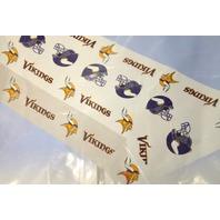 """Minnesota Vikings NFL Plastick Vinyl Piocnic Table Cover  54"""" x108"""""""