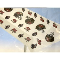 """NFL Tampa Bay Buccaneers Plastic Table Cover 54"""" x 108"""""""