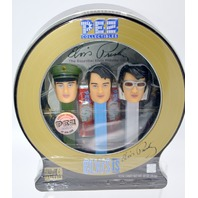 Elvis Presley Limited Edition Pez Dispensers with CD included.  Needs fresh Pez.