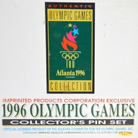1996 Olympic Games Pin Set - Athens 1896 to Atlanta 1996 LE 8,477/10,000
