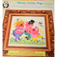 Childrens Records 33 1/3 RPM - 4 - Happy Birthday,Three Little Pigs, and more