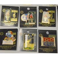 1996 Atlanta Olympic Games - 15 Collectible Pins.