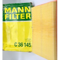Mann BMW Engine Air Filter C36 145 - New, the box is bent up but inside is fine.