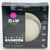 B+W 55mm Premium XS-PRO Filter Nano Clear-007 XSP