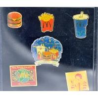10 - 2000 Sydney Olympic Pins - Mcdonalds - Pround Partners on 4 of them.