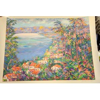 """Acapulco Mexico"" Serigraph by Jacqueline Kamin, signed and numbered LXXC111/C"