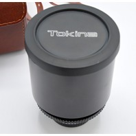 Tokina Lens 8138835 RMC 500mm 1:8 with leather case and 2 extra lens filters.
