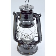 Northpoint Vintage LED Lantern with build in dimmer switch - Black.
