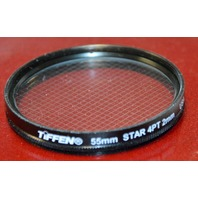 Tiffen 55mm 4 Point 2mm Star Glass Filter - Excellent condition