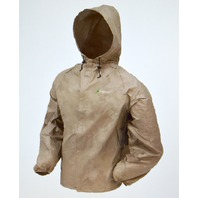 frogg toggs - New - Ultra-Lite Jacket - Khaki - XL - #UL6204-04