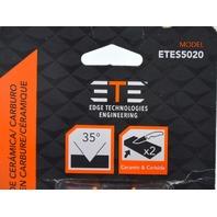 ETES5020 Ceramic/Carbide Sharpener - 35* - with instructions.