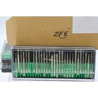 "3 Sets ZFE Diamond Burr Bits Drill Kit, 1/8"" Shank #A0000309B3"