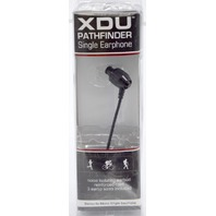 XDU Pathfinder Singel Earphone + Mic Single Stereo-to-Mono Noice Isolating Earphone