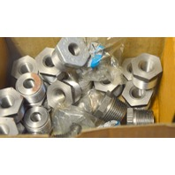 """Pipe Reducer, Hex Bushing 3/8"""" -1"""" - 25 piece lot.  Some have a little rust from sitting."""