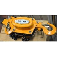 Chain Lever Hoist Ratchet 3/4 ton, 5' lift  YAL Type - New