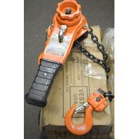 Vestil Lever Hoist PLH Type, .75 Ton, 5' Lift, PLH-15-5 - New