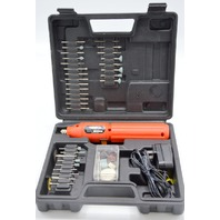 Stalwart 3.6V, 10000RPM Cordless Rotary Tool Set - Pre-Owned Working.