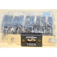 The Install Bay ANL 100-10, 100 Amp Fuse - High Quality Nickel Plated. 10 Pcs.