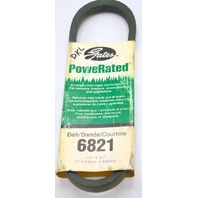 "Gates PowerRated V-Belt #6821 1/2"" x 21"" Stronger than steel reinforced."